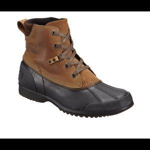 Sorel Ankeny Waterproof Brown Mens Boots Size 8